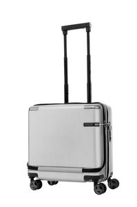 Samsonite Evoa SP Rolling Tote Brushed Silver medium | Samsonite