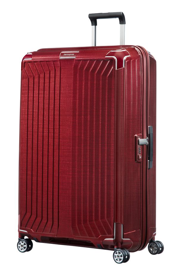Samsonite Lite- Box Spinner 81cm/30inch Deep Red large | Samsonite