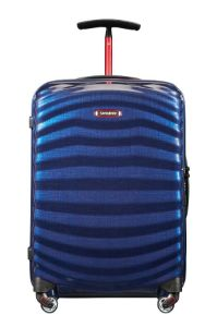 Samsonite Lite-Shock Sport Spinner 55/20  Nautical Blue/Red medium | Samsonite