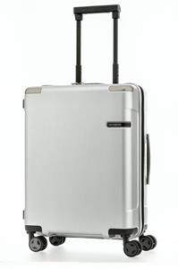 Samsonite Evoa Spinner 55cm/20inch Brushed Silver medium | Samsonite