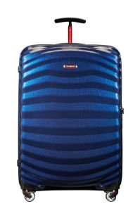 Samsonite Lite-Shock Sport Spinner 75/28  Nautical Blue/Red medium | Samsonite