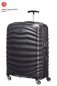 Samsonite LITE-SHOCK Spinner 69cm/25inch Black medium | Samsonite